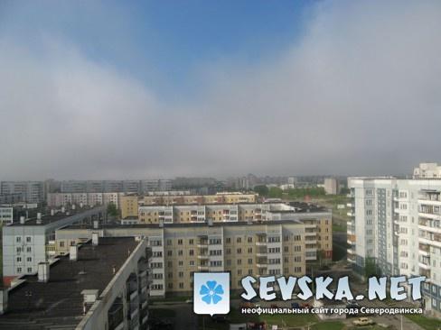Северодвинск с крыши Пр. Морской 68 3