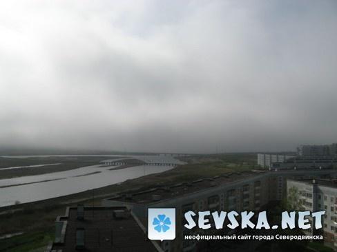 Северодвинск с крыши Пр. Морской 68 4