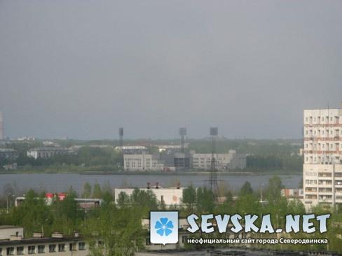 Северодвинск с крыши Пр. Морской 68 0